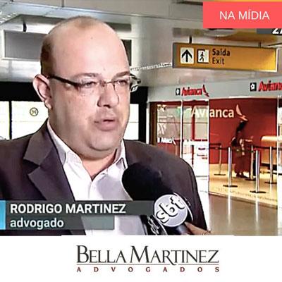 Jornal SBT Brasil aborda o cancelamento de vôos da Avianca, com comentários de Rodrigo Bella Martinez