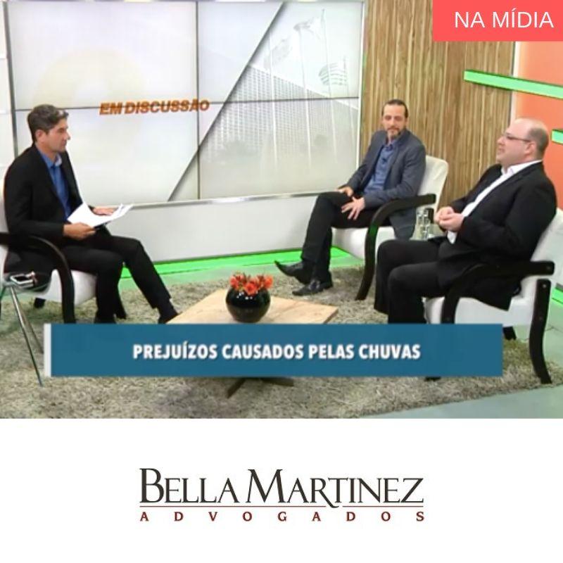 No programa Em Discussão, da TV Alesp, nosso sócio Rodrigo Bella Martinez falou sobre os prejuízos causados pela época de chuvas
