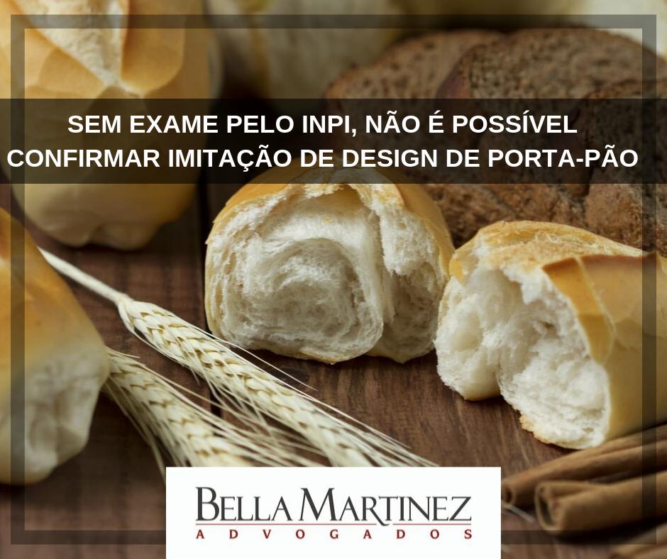 Sem exame pelo INPI, não é possível confirmar imitação de design de porta-pão
